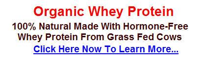 organic whey banner Organic Whey Protein